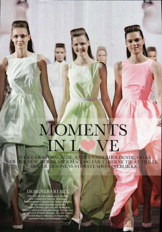 Inspiração em revistas de moda